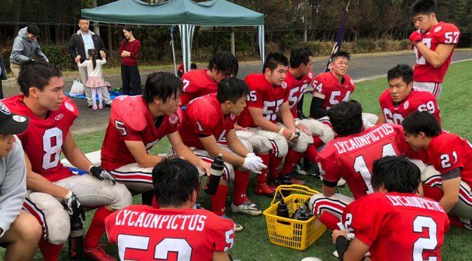 2018年度エリアリーグ戦:千葉工業大学ホーネッツ戦